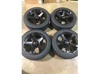 "Brand new set of 20"" alloy wheels and tyres Ford Ranger Mitsubishi L200 Shogun"