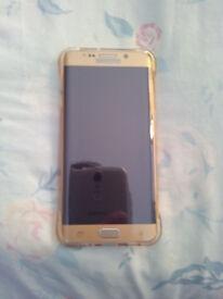 Samsung galay s6 edge plus gold Unlocked.