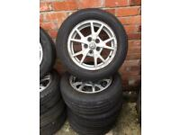 "16"" GENUINE VAUXHALL INSIGNIA ALLOY WHEELS TYRES 5x120"