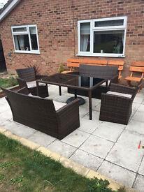 Rattan Garden Furniture NEW