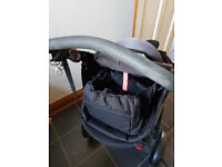 Phil & Ted's Black Double Buggy incl. baby insert, sun & rain covers. Good condition & rarely used.