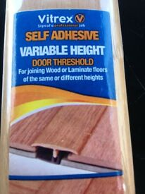 Brand New Vitrex door threshold self adhesive