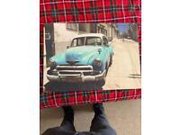 Vintage car canvas