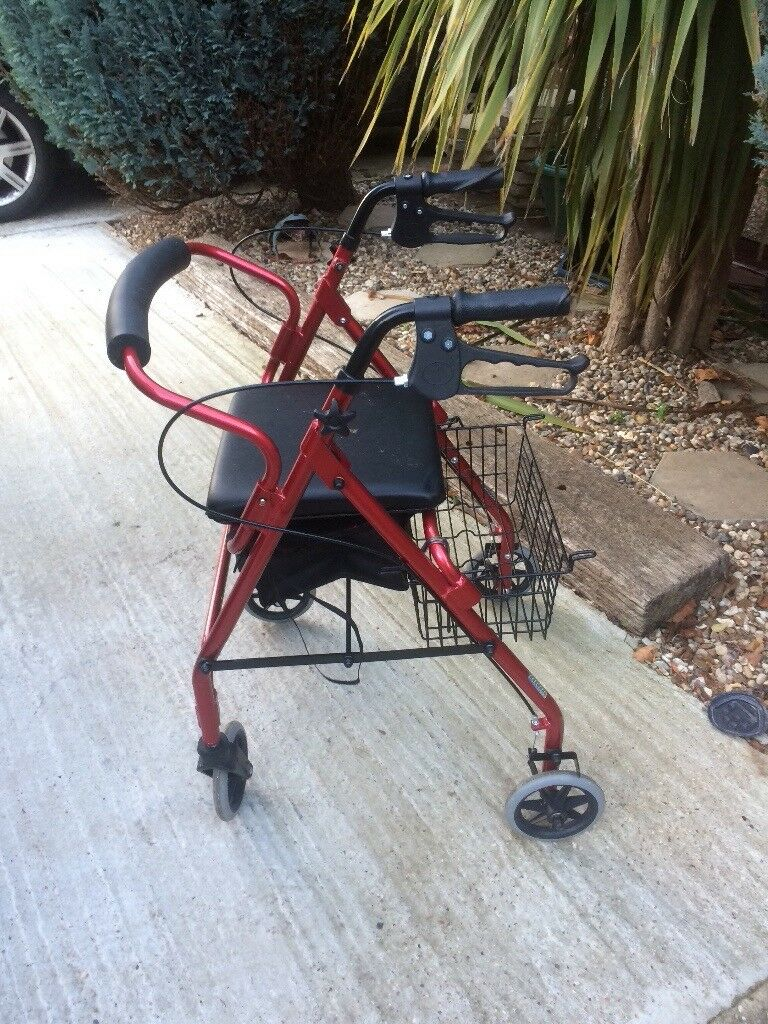 Disability 4 wheeled walker