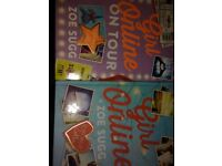 2 Zoella girl online books. Great condition. Need gone asap