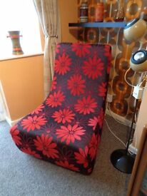 Funky 70's Style Modular Lounge Chair