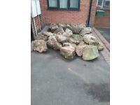 56 Rockery Stones