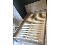 Ikea Nyvoll double bed frame