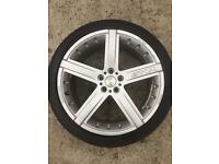 18 inch MOMO GTR Alloy Wheels