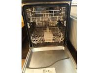 Swan dishwasher, black