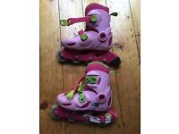 Oxelo girls in-line skates size 11.5 -13