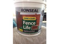 Ronseal Fence Life Medium Oak 9 litres