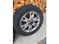 Volvo XC90 wheels & tyres 235/60 18 x 4 ( 2 different matching pairs )