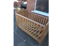 Cot/ Cot Bed/Mothercare