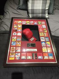 Ser Henry cooper boxing memorabilia