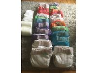 Tots bots easifit reusable nappies (pre-loved)