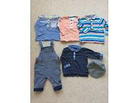 6-9 month Boy Bundle (mostly Ted Baker)