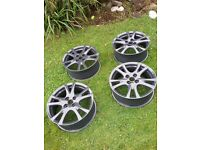 Alloy wheel refurbishment sandblasting powder coating car and bike vauxhall bmw saab toyota cbr