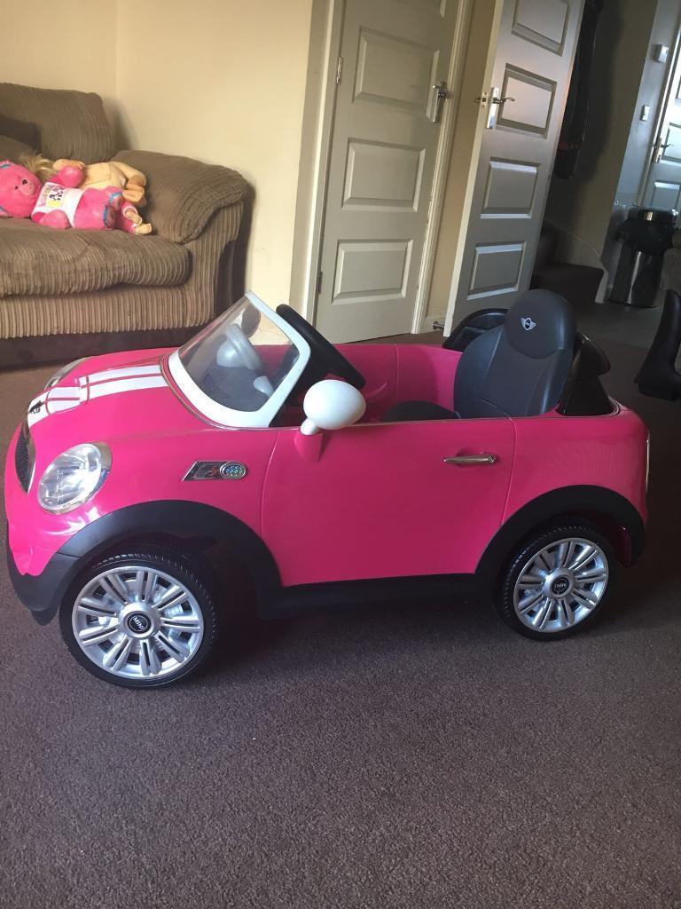 Kids Mini Cooper ride on car