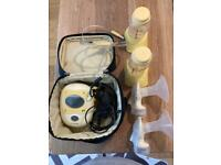 Medela Breast Pump and feeding kit