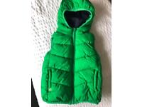 Boys Age 2-3 Gilet Body Warmer Puffer NEXT (x2 avail in Blue and Green)