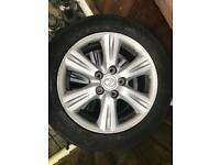 Lexus alloy wheels