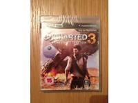 Uncharted 3 Drake's Deception PS3 - New & Sealed