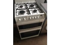 Gas cooker white 60cm.....free delivery