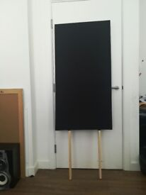 2 x Acoustic Absorption Panels - Floor Standing, Black