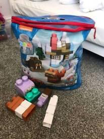Paw patrol Lego blocks.