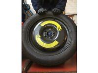 Space Saver Wheel & Tyre Audi Volkswagen