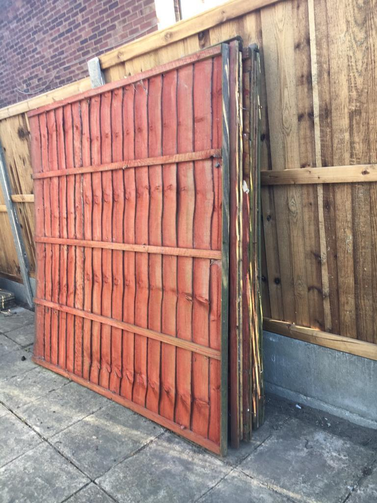 6ft x 6ft fence panels x 5 in ipswich suffolk gumtree 6ft x 6ft fence panels x 5 baanklon Images