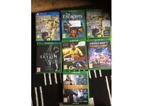 Xbox one /PS4 games £10 each or all 7 for £50