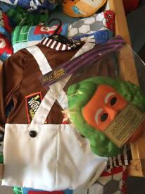 Charlie and chocolate factory dress up 5-6 yeaes
