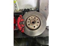Vw golf mk5/6 gti 312mm brake setup