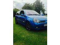 TWO CARS!! RS Clio 182 Sport (Track ready/Road legal) Renault Sport. Take A Look!! Price Negotiable