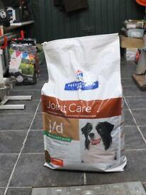 DOG FOOD - Hills Prescription Diet Joint Care 12kg (with chicken) bag unopened