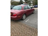 JAGUAR S TYPE AUTO (02) spare or repair runs and drives