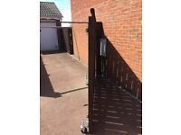 Driveway gate 3m with hinges and post