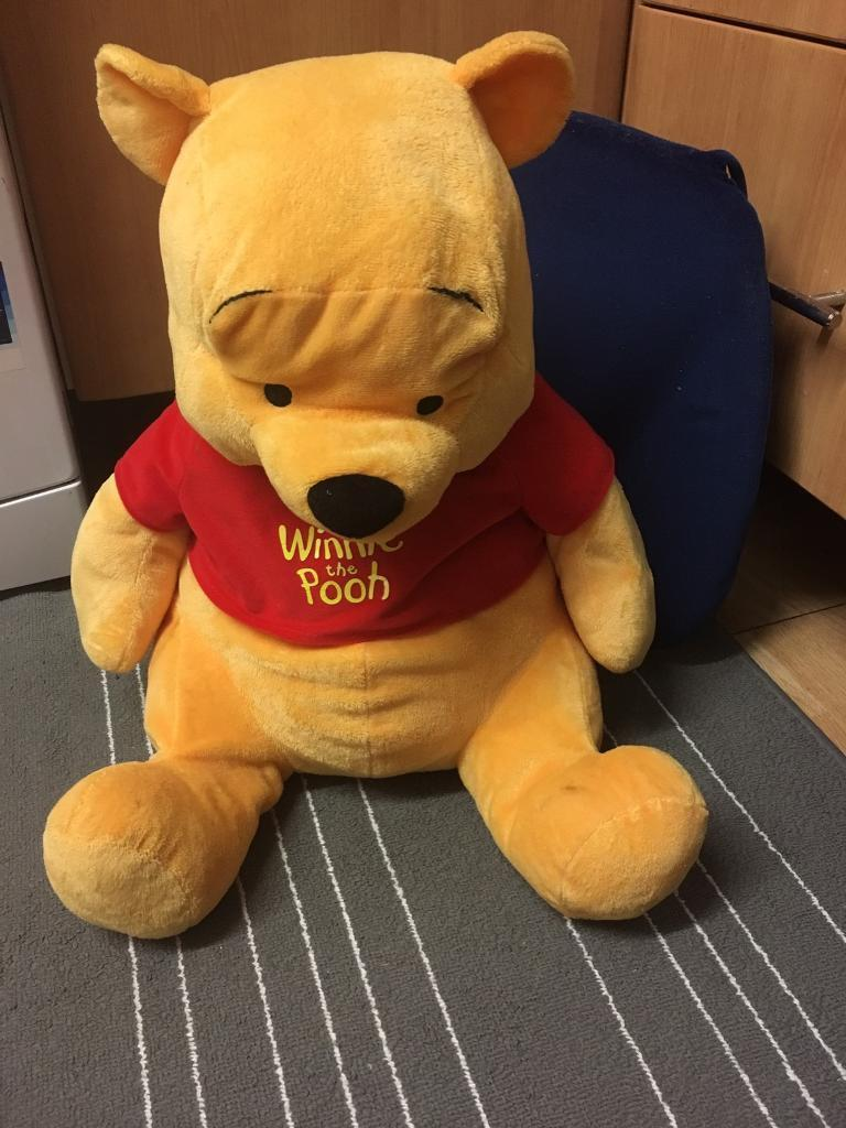 Big Winnie the poohin Coventry, West MidlandsGumtree - Selling this big Winnie the Pooh plush toy only for £10. Cost me £25