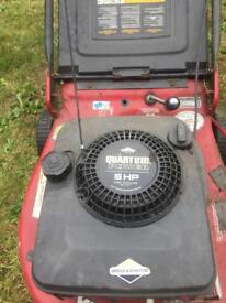 21 inch 5hp Briggs and Stratton lawnmower