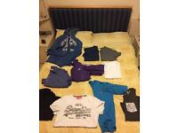 10 DESIGNER clothes. Lyle and Scott, adidas jacket, Abercrombie and Fitch, Superdry etc.