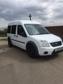 Ford connect van tourneo 5 seater wheelchair access
