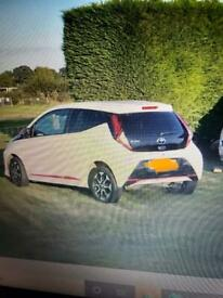 WANTED AUTOMATIC TOYOTA AYGO
