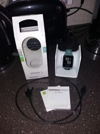 TomTom Spark 3 watch with GPS and wrist heart rate