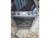 Zanussi electric cooker 55 cm