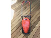 Electric lawn mower nearly new