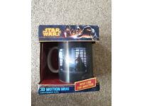 * NEW * Star Wars 3D Motion Mug - Lightsaber Duel