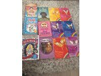 12 children/teen books.