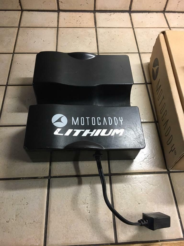 Motocaddy LITHUIM BATTERY !!!